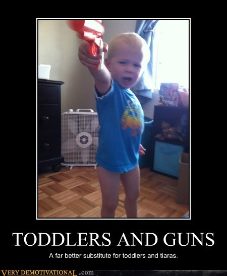 TODDLERS AND GUNS