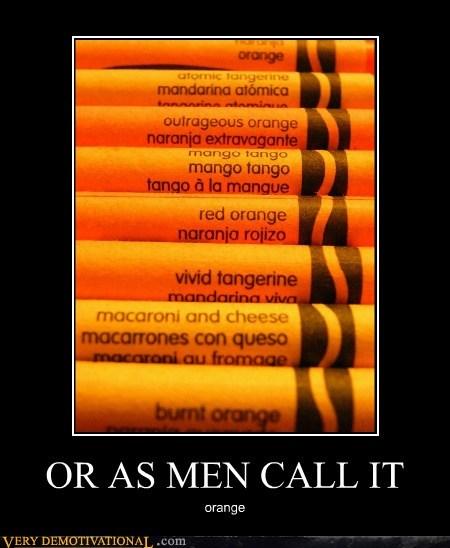 crayons,hilarious,men,orange,women