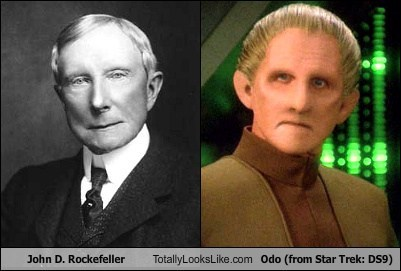 John D. Rockefeller Totally Looks Like Odo (from Star Trek: DS9)