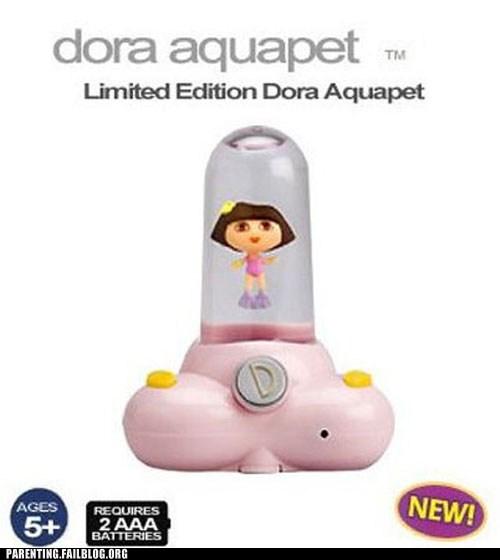 Dora's Been Doing Some Explora-ing