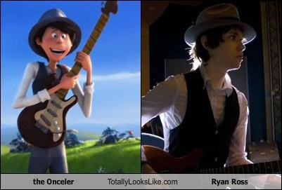 The Onceler Totally Looks Like Ryan Ross