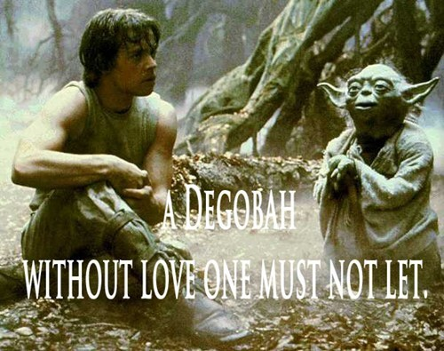 Profoundly Punny Yoda Says: