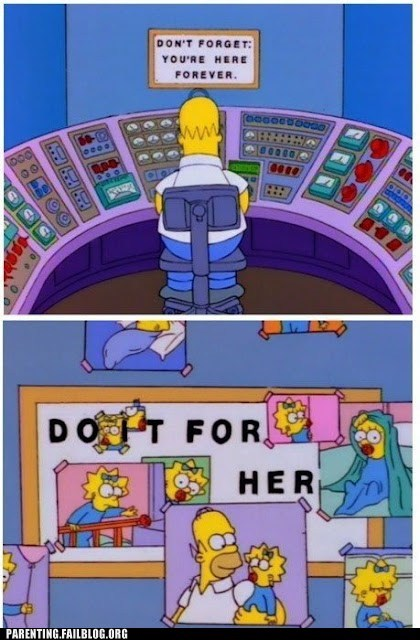 do it for her,homper simpson,Maggie Simpson,power plant,the simpsons