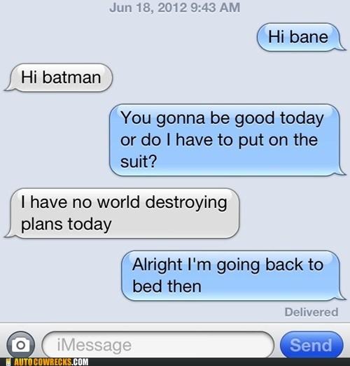 bane,batman,iPhones,the dark knight,typo,world destroying plans