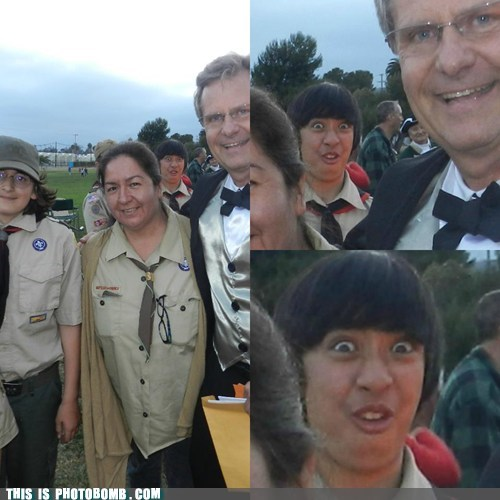 Photobomb Level: Asian