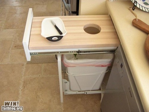 clever,convenient,cutting board,design,kitchen
