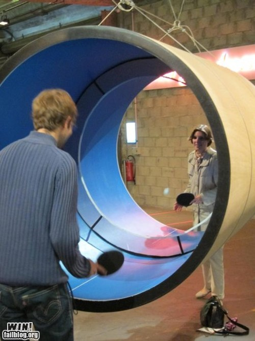 WIN!: Tube-Pong WIN