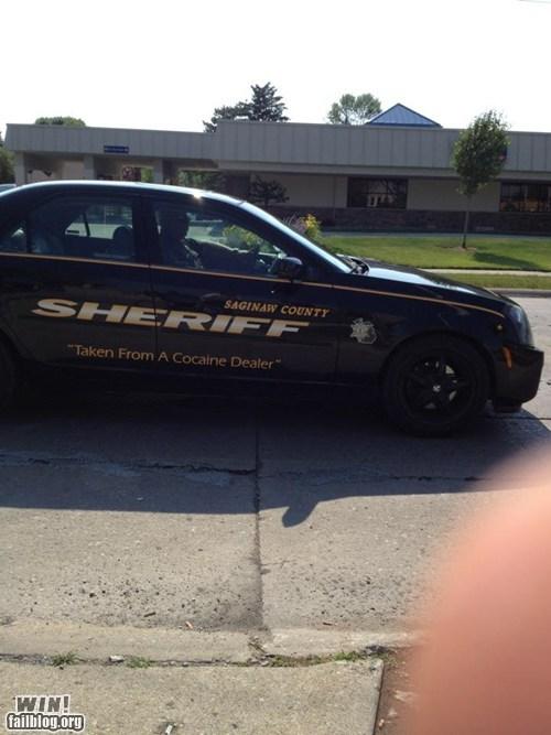 BAMF,drug dealers,police,police car,sheriff,whoops