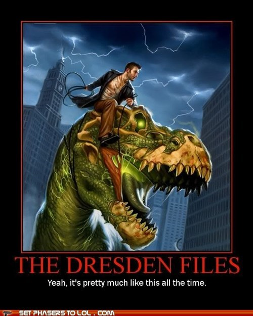 all the time,awesome,best of the week,book series,books,dinosaur,harry dresden,the dresden files,zombie