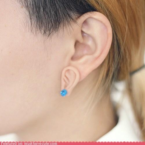 Little Third Ear Earrings
