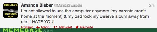 amanda bieber,Bieber,facebook,faith restored,parents,twitter,weird kid