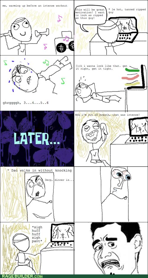 parenting,Rage Comics,that looks naughty,workout