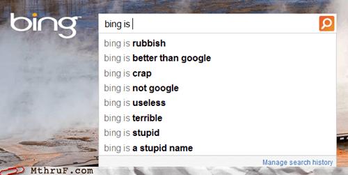 bing,google