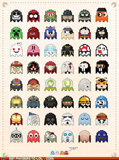 art,challenge,characters,guessing,iconic,pac man