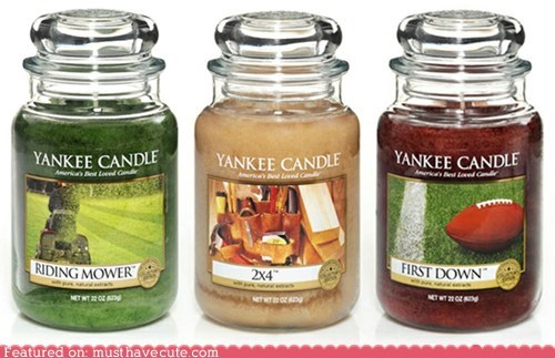 candles,manly,scents,yankee candles