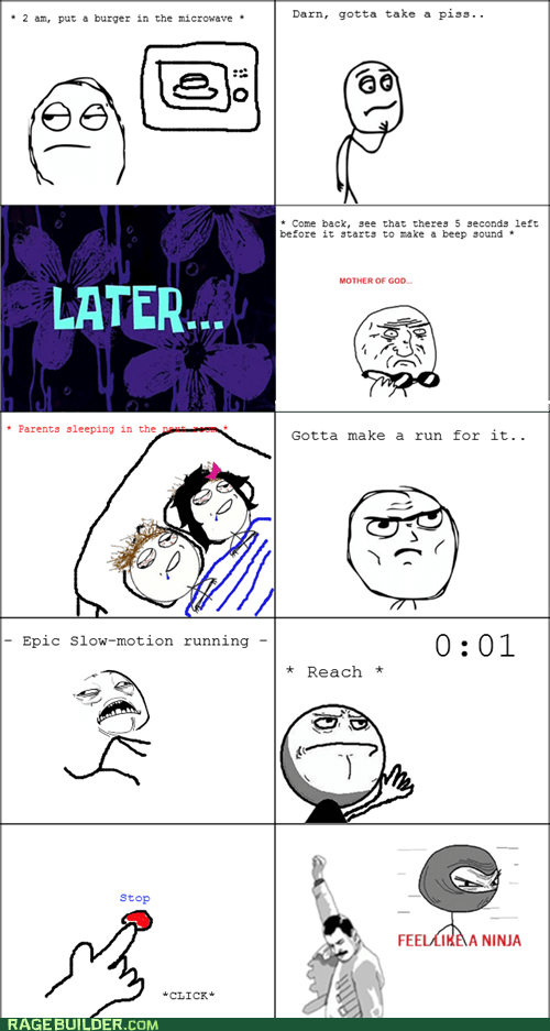 Rage Comics: I Must Not Wake the Wardens!