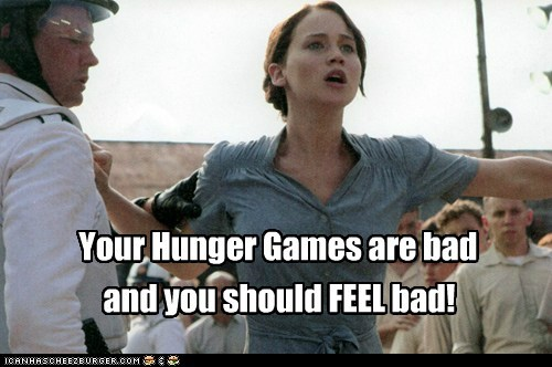 Need a Tribute? Why Not Katniss?