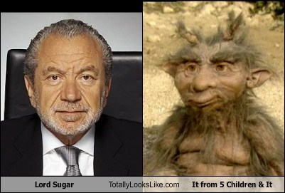 Lord Sugar Totally Looks Like It from 5 Children & It