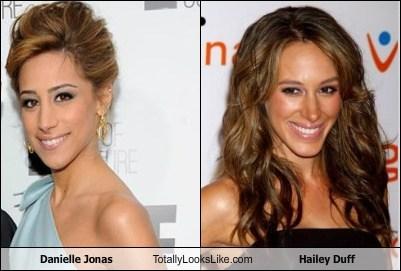 Danielle Jonas Totally Looks Like Hailey Duff