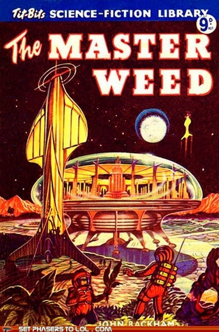 WTF Sci-Fi Book Covers: The Master Weed