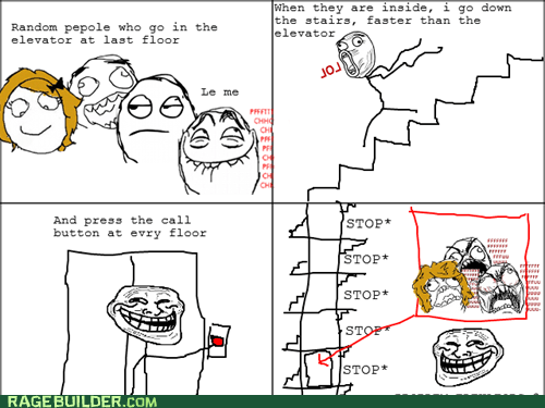 Rage Comics: And That's How I Get My Daily Exercise