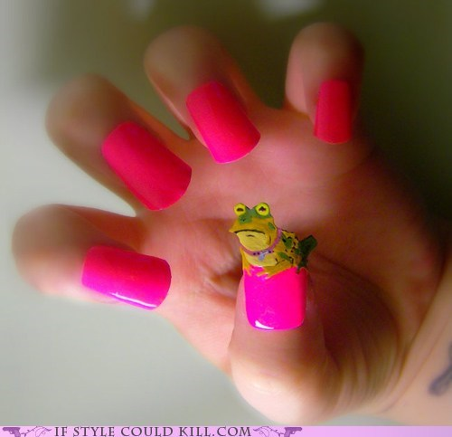 cool accessories,hypno toad,nail art,nails,the simpsons