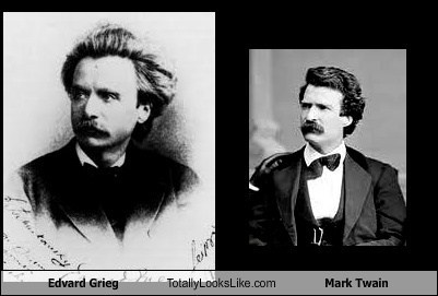 Edvard Grieg Totally Looks Like Mark Twain