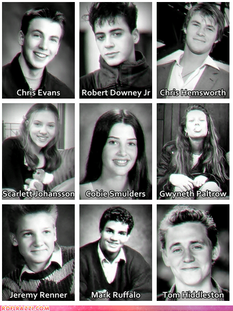 """The Avengers"" Cast When They Were Young"