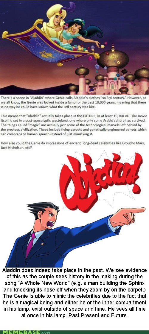 Objection Sustained!