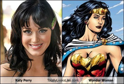 Katy Perry Totally Looks Like Wonder Woman