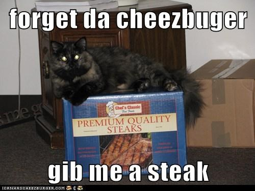 forget da cheezbuger  gib me a steak