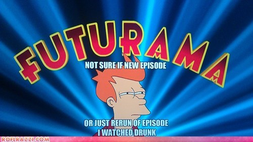 "The Opening Caption From Tonight's Season Premiere of ""Futurama"""