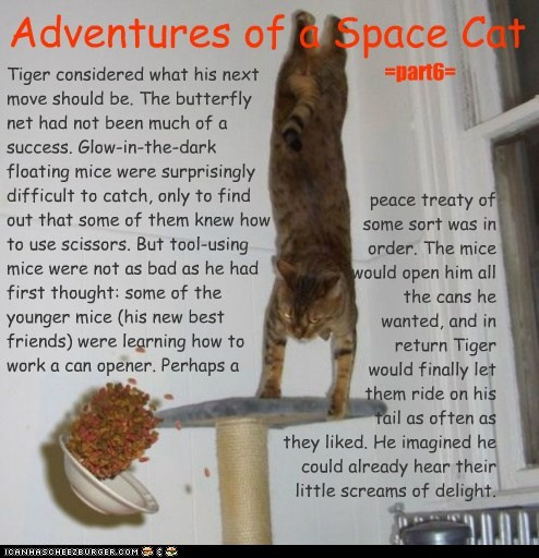 Adventures of a Space Cat =part6=