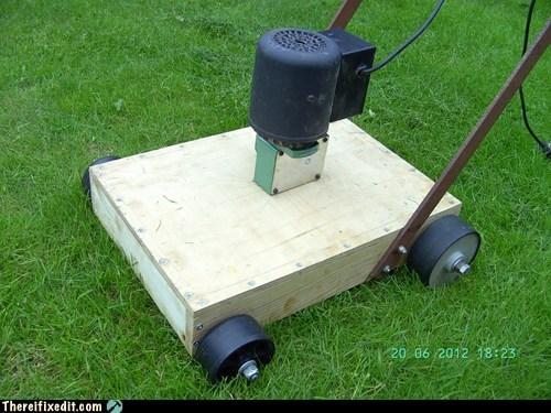 lawn mower,minimalism,minimalist