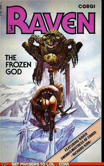 WTF Sci-Fi Book Covers: The Frozen God