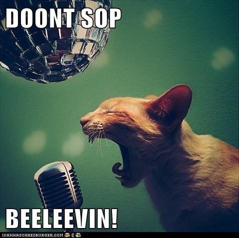 DOONT SOP  BEELEEVIN!