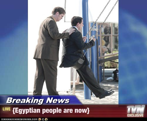 Breaking News - {Egyptian people are now}