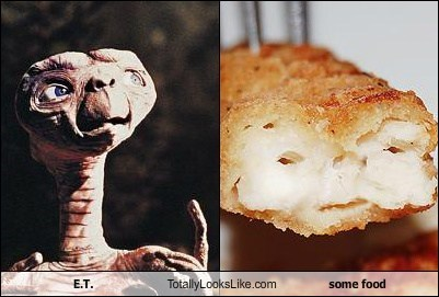 E.T. Totally Looks Like Some Food