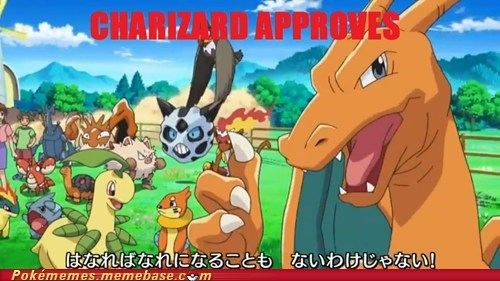 Charizard Approves of BW 2