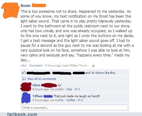 Failbook: The Force is Strong With This One