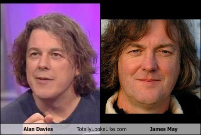 Alan Davies Totally Looks Like James May