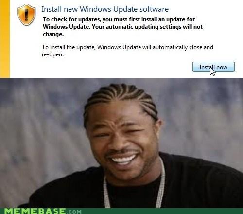 computer,updates,windows,yo dawg