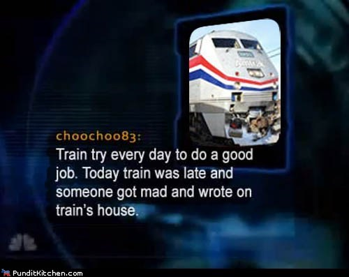 To Catch a Train