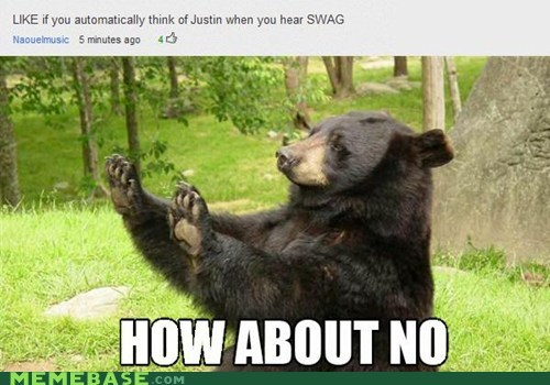 bear,how about no,Memes,swag
