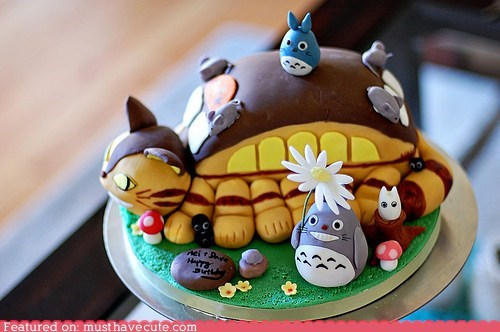 cake,catbus,epicute,fondant,my neighbor totoro
