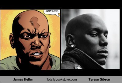 James Heller Totally Looks Like Tyrese Gibson
