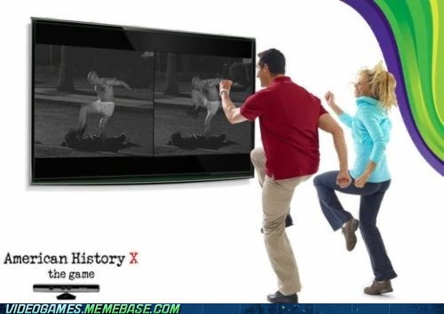 american history X,epic,kinect,Movie,video game,video games,xbox