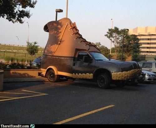 boot,boot car,boot truck,shoe,shoe car,shoe truck