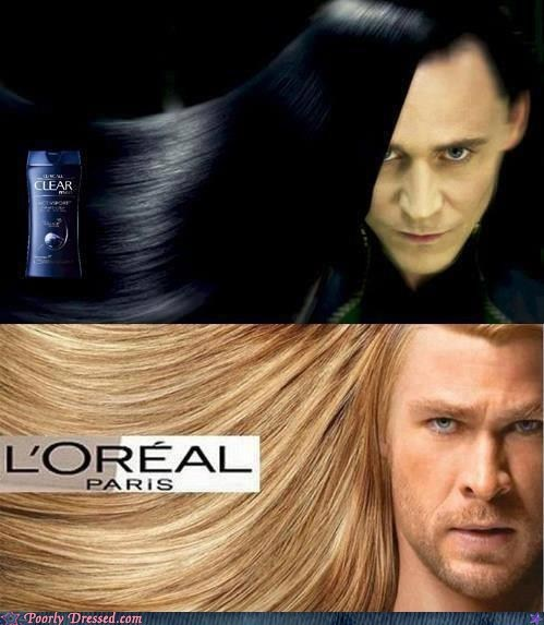 Hair Worthy of the Gods