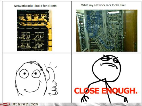 network racks,technician